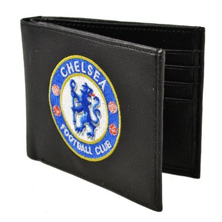 Chelsea Embroidered PU Leather Wallet